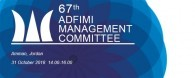 ADFIMI 67th Management Committee Meeting to be held in LeGrand Hotel, Amman, Jordan, 31 October 2018, 14.00-16.00